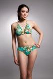 Bikini asian woman royalty free stock photos