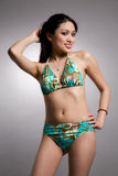 Bikini asian woman Royalty Free Stock Photography