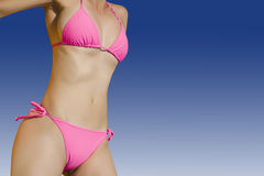 Bikini Babe Royalty Free Stock Photo