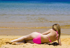 Bikini Babe Stock Photos