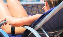 Bikini babe. Royalty Free Stock Images