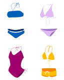 Bikini , bathing suit , swim suit Royalty Free Stock Images
