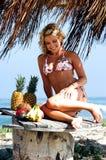 Bikini Beach Blond Royalty Free Stock Image