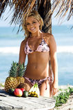Bikini Beach Blond Royalty Free Stock Photography