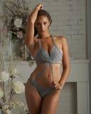 Bikini Beauty Indoors Royalty Free Stock Images