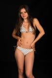 Bikini beige Imágenes de archivo libres de regalías