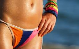 Bikini body Stock Images
