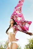 Bikini butterfly Stock Images