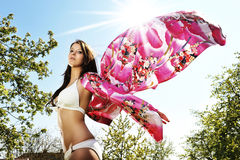 Bikini butterfly Royalty Free Stock Photos