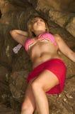 bikini cassie Στοκ Φωτογραφία