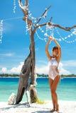 Bikini de crochet photographie stock