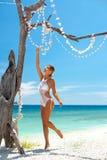 Bikini de crochet photographie stock libre de droits