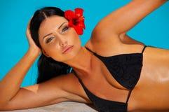 Bikini in der Tätigkeit Lizenzfreie Stockbilder