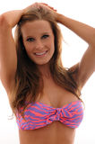bikini dziewczyny ja target1594_0_ Obrazy Royalty Free