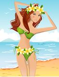 bikini dziewczyny potomstwa Zdjęcie Royalty Free