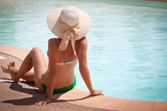 Bikini en la acción Imagen de archivo