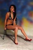 Bikini-Frau Stockbild
