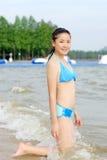 Bikini girl Royalty Free Stock Images