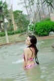 Bikini girl Royalty Free Stock Image