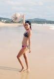 Bikini girl. Royalty Free Stock Photo
