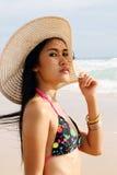 Bikini girl Royalty Free Stock Photo