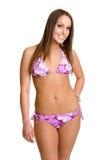 Bikini Girl. Beautiful young smiling bikini girl Royalty Free Stock Images