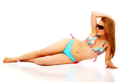 Bikini girl Stock Photo
