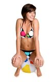 Bikini Girl Royalty Free Stock Photography