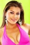 Bikini girl portrait Stock Image