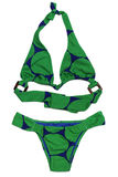 Bikini in green Royalty Free Stock Photo