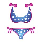 Bikini icon Stock Images