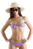 bikini kapelusz Zdjęcia Royalty Free