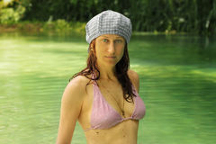 Bikini lagoon Stock Photos