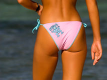 Bikini-Mädchen Lizenzfreie Stockfotos