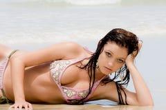 Bikini-Mädchen Stockfotografie