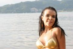 Bikini model. Stock Images