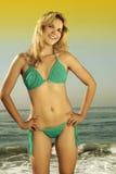 bikini model obraz stock