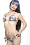 Bikini model. Model with great body in a bikini Stock Photography