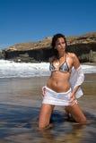 bikini model Zdjęcia Royalty Free