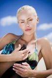 bikini mody model Zdjęcia Royalty Free