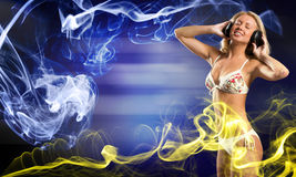 Bikini party Stock Photography