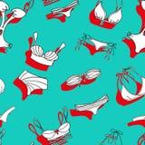 Bikini pattern Stock Image