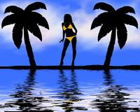 bikini plażowa kobieta Zdjęcie Royalty Free