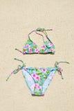 bikini plażowy sznurek Zdjęcia Stock