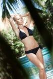 In bikini Stock Photo