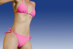 Bikini-Schätzchen lizenzfreies stockfoto
