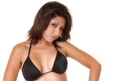 bikini sexiga latina Royaltyfria Foton