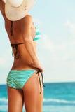 Bikini and the sun Stock Photo