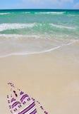 Bikini in tropical setting Stock Images