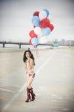 bikini USA Royaltyfri Fotografi
